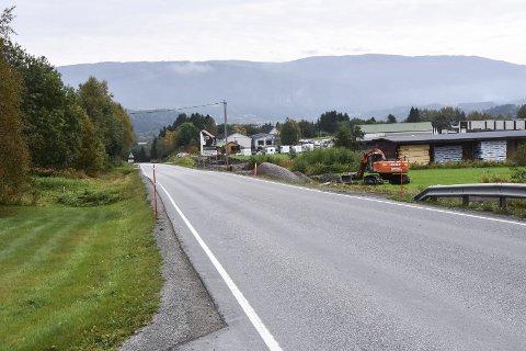 STENGES: Fylkesveg 760 mellom Bergsmo og Grong stenges natt til onsdag of natt til torsdag.
