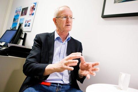 PÅ SYKEHUSENE: Framtidas helikopterlandingsplasser må ligge på sykehusene, mener Tor Åm, administrerende direktør i Helse Nord-Trøndelag.