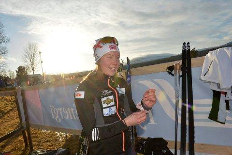 ETT ÅR TIL: Laila Kveli følte seg i meget god form på tampen av sesongen. Når sponsoren også vil være med ett år til og familien sa ja, så satser hun for fullt også kommende sesong.