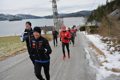 ARRANGERER: – Det blir løp i Engan Rundt-løypa andre juledag, sier Leder i Namdal Løpeklubb, Håvard Jakobsen til NA tirsdag. Her ser vi bilde av fjorårsutgaven av løpet.