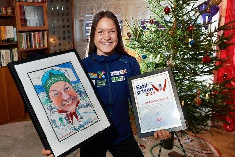 PRISET I 2019: Ane Appelkvist Stenseth ble tildelt Estilprisen i 2019. Onsdag 30. desember blir det klart hvem som får årets pris.