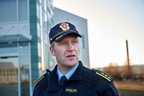 FRYKTER KONSEKVENSEN: Politistasjonssjef Svenn Ingar Viken i Namsos advarer mot regjeringas forslag til ny rusreform.
