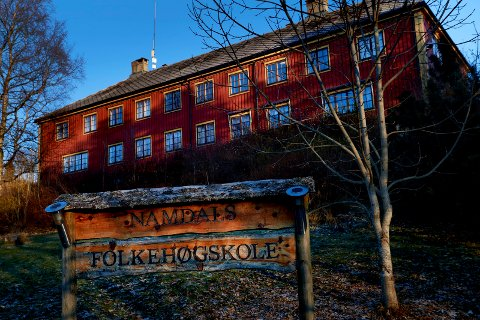 TILSKUDD: Formannskapet i Namsos kommune går inn for å gi Namdals folkehøgskole tilskudd for 2020.