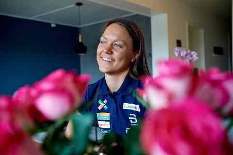 LANGSIKTIG MÅL: Ane Appelkvist Stenseth mener VM i Trondheim er et mål å sikte mot.