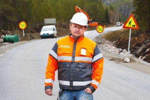 ORDRERESERVE: Brødrene Brøndbo As gjorde opp 2020 med et godt resultat. Daglig leder Odd Erling Brøndbo forteller at selskapet per i dag sitter med en ordrereserve på omkring 20 millioner kroner.
