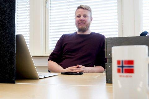 HAR LYKTES: Tor Erling Inderdal i Lierne Utvikling skryter av næringslivet i kommunen som har skapt 135 arbeidsplasser så langt i kjølevannet av Orklas utflagging av lefseproduksjon for noen år siden. Det er mer enn kommunen tapte da bakeriet forsvant.