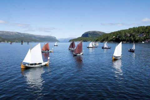 KUN SEILAS: Nordlandsbåtregattaen blir ikke avlyst i år, men det blir kun arrangert seilas. Det kan følges via streaming.