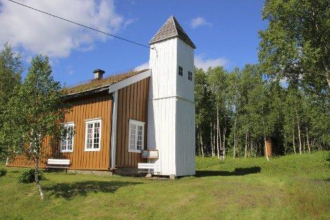 FORESLÅTT VERNET: Bjørhusdal skole og kapell er et unikt bygg som Namsskogan kommune nå vurderer om skal vernes.