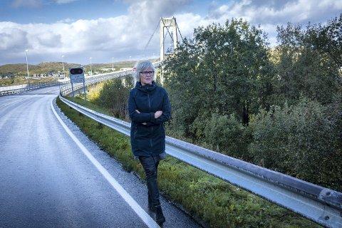 STORT BEHOV: Ingunn Lauritzen Lysø (Ap) har lenge etterlyst gang- og sykkelveg på strekninga Marøya–Sjøhaugen. Nå får prosjektet statlig støtte.