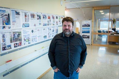 Kommunikasjonsrådgiver: Morten Wengstad forteller at Nærøysund kommune følger smittesituasjonen tett.