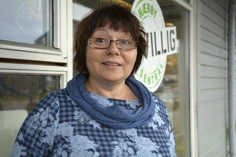 FULL AKTIVITET: Daglig leder Torunn Neerland i Nærøy Frivilligsentral kan fortelle om en planlagt aktiv høst - koronatilpasset sådan.