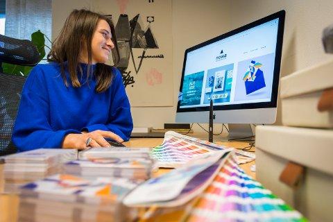 DESIGNER: Kasia Dynowska jobber nå fulltid i sitt eget selskap, Nowa designverksted.