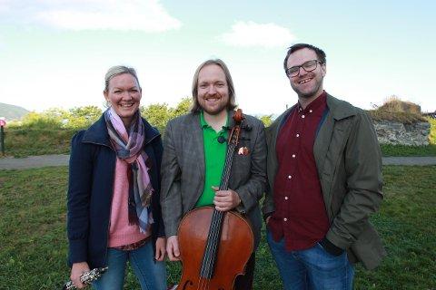 TRIO: Pocus består av Elin Torp Meland (obo), Kjell Magne Robak (cello) og Jon Kristian Bye (piano).