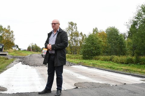 PÅ HØY TID: Steinar Aspli mener det er på høy tid at fylkesveg 771 oppgraderes.