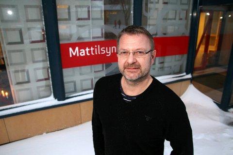 Fikk beskjed torsdag: Avdelingssjef John Bjarne Falch i Mattilsynet region Midt fikk beskjed om mistanken om ILA-utbrudd torsdag ettermiddag.