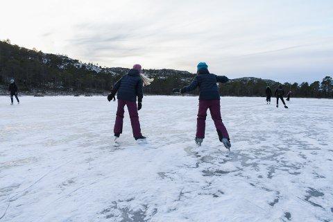 NYTT VEDTAK: Nå gjør Nærøysund kommune det enklere å få godkjennelse for å preparere natur-is.