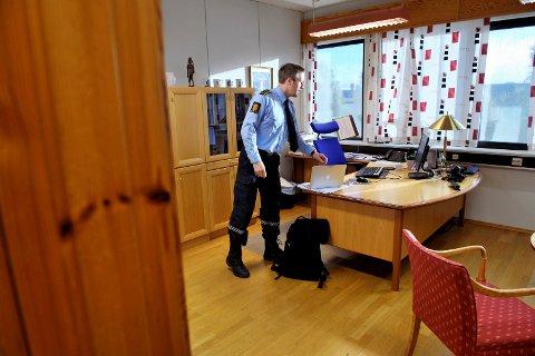 KRAFTIG ØKNING: Aldri har det blitt anmeldt så mange sedelighetssaker i Namdalen som i koronaåret 2020. Politistasjonssjef Svenn Ingar Viken forteller at denne type kriminalitet er et prioritert område for politiet å avdekke.