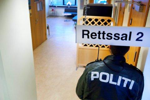 I retten: I løpet av de siste årene har det vært flere rettssaker i Namdal tingrett, er politiet har vært den fornærmede part – utsatt for både vold, trusler, hindring og foruleping mens de har vært i tjeneste.