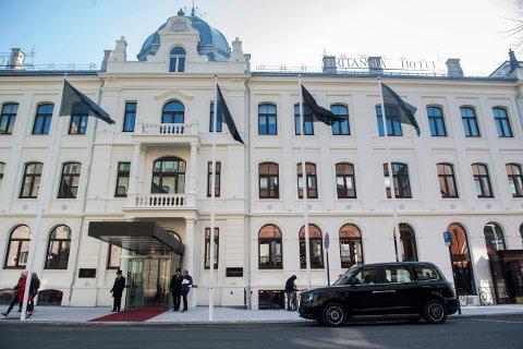 STENGT TIL 20. JANUAR: Britannia Hotel Trondheim.