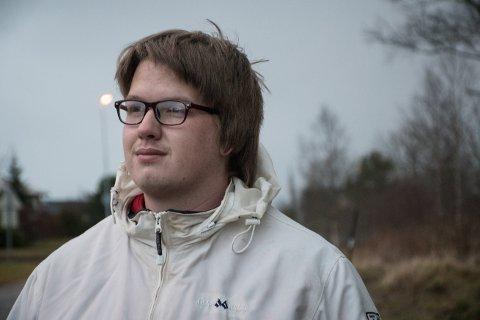 HAR SATT JOBB-DRØMMEN PÅ VENT: Leif-William Edvardsen (27) har innsett han hans egen helsesituasjon gjør at han ikke kan jobbe med det første. Fra i fjor til i år, har andelen uføretrygdede i Trøndelag økt med 5,1 prosent.
