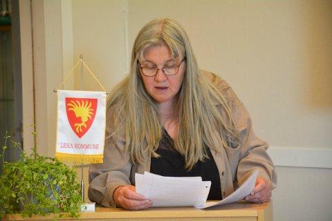 AVGJØRENDE STEMME: Mari-Anne Hoff (SV) er imot oppdrett ved Sklinna naturreservat, men hun mener at dette ikke var tema på kommunestyremøtet da politikerne skulle stemme over hvorvidt oppdrettsplanene er i strid med gjeldende arealplan.