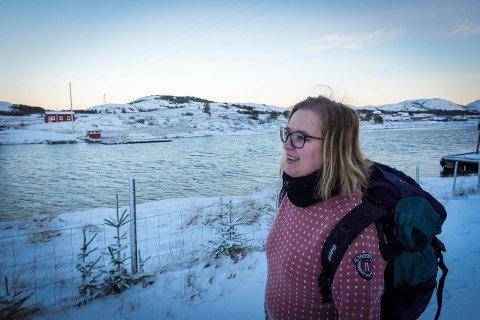 Camilla Vågan ser fram mot et år med mye mer besøk enn det har vært på mange år på Nærøya.
