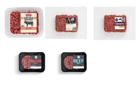 Tilbakekalles: Her er noen av produktene som tilbakekalles.
