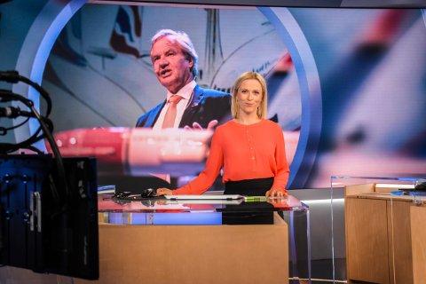 FÅR BRUKE DIALEKTEN SIN: Som den andre journalisten i NRK har Eline Buvarp Aardal fra Namdalseid fått lov til å bruke sin egen dialekt når hun presenterer nyheter på TV.