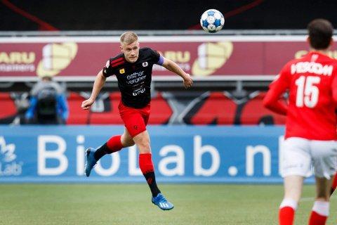 NY TILVÆRELSE: Sondre Skogen fra Lierne har spilt fra start for Excelsior i to av de tre siste seriekampene i Eerste divisie, nederlandsk 1. divisjon.