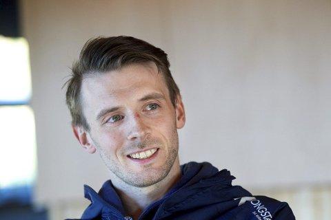 NY KOLLEGA: Namsosingen Jonas Lian Hansen ser fram til å jobbe me d Ranheims nye hovedtrener, Hugo Pereira, som ble onsdag ble ansatt av klubben.