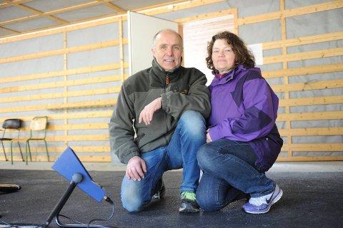 MEDALJØRER: Ekteparet Willy Sverkmo og Venke Sverkmo tok begge medaljer i helgas norgesmesterskap i rifle for veteraner. Bilde er tatt i en annen sammenheng.