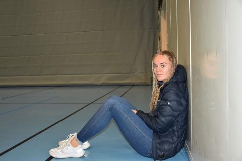 NM UTGÅR: Grunnet smittesituasjonen er dette andre året på rad at Nina Elisabeth Solum og de øvrige Grong-spillerne går glipp av NM i volleyball. I stedet ser Solum fram mot seriestart og landslagssamling.
