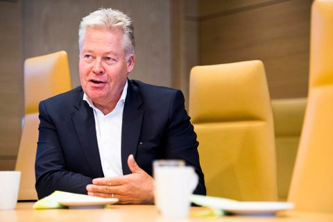 RAUS: Konsernsjef Helge Leiro Baastad i Gjensidige.