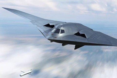 Kinesiske myndigheter har skapt blest om sitt kommende stealth-bombefly kjent som Xian H-20 med bilder som dette i sosiale medier. Det faktiske flyet er ikke avduket ennå, og bildet over er kun en illustrasjon. Bla videre for å se flere konsept.