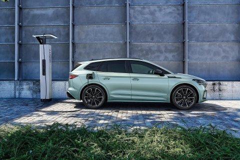 Skoda tilbyr elektrisk SUV til gunstig pris med sin Enyaq. Bla for å se flere bilder av elbilen.