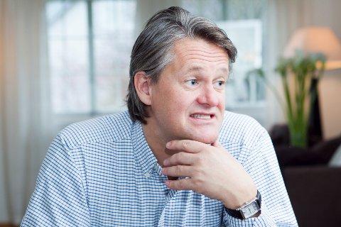FINANSMANN: Frittalende Håvard Nesheim synes børsen begynner å bli dyr. Her forteller investeringsdirektøren hvordan han rigger Conceptor-porteføljen til å best mulig kunne takle en eventuell korreksjon.