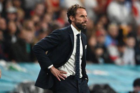 KRITIKK: Gareth Southgate har fått hard medfart etter finaletapet mot Italia.