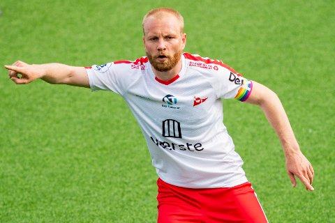 I FORM: Henrik Kjelsrud Johansen noterte seg for to mål og én assist i 5-1-seieren over Stjørdals/Blink.