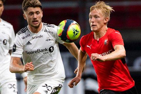 BLIR IKKE Å SE TORSDAG: Vebjørn Hoff spilte 90 minutter mot Birger Melings Rennes forrige uke. Nå må midtbanemannen forvente seg et lengre skadeavbrekk.