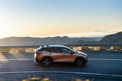 Nissan Ariya er en bil mange er spente på. Etter planen skal den komme til Norge rundt årsskiftet 2021/2022. Bla for å se flere bilder.