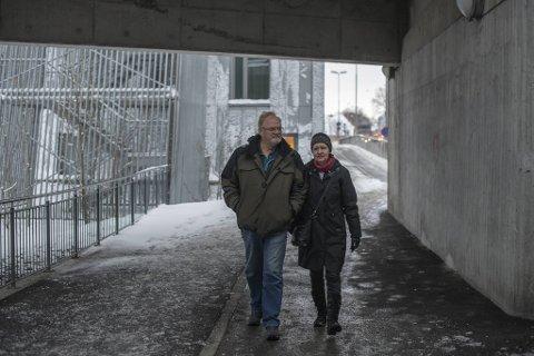 Ingunn Hagen og Dan Yngve Jacobsen opplevde alle foreldres mareritt da sønnen deres forsvant 18. november 2018.