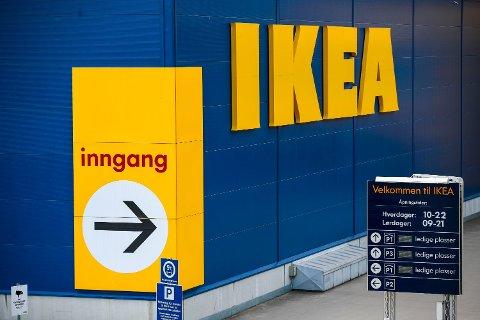 NYTT TILTAK: Ikea Norge er godt i gang med å innføre et nytt tiltak mot miljøsvinn.  Foto: Lise Åserud (NTB)