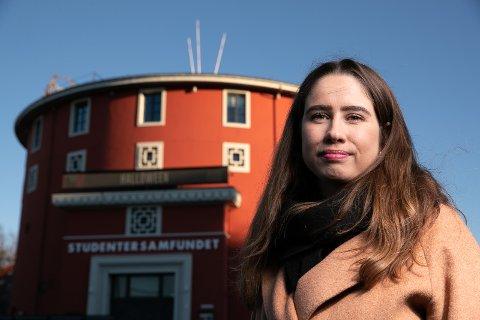 Karen Mjøl, leder for Studentersamfundet.