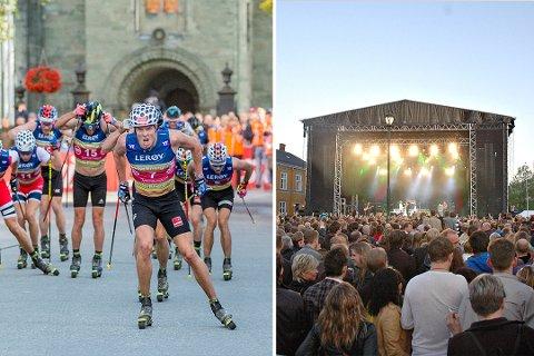UTFORDRINGER: Toppidrettsveka og konserter på Torvet kan få trøbbel om det skal bli skjenking på indre deler av Torvet gjennom sommeren.