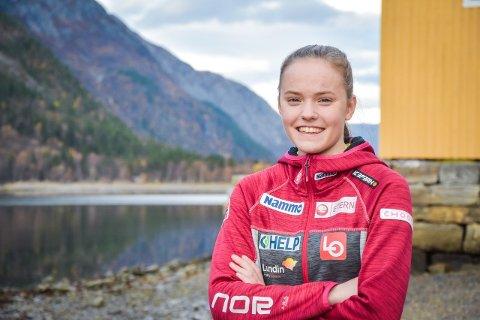KARANTENE: Eirin Kvandal er satt i koronakarantene etter at en klasse og treningskamerat har testet positivt for korona.