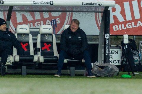 Dette bildet får nok RBK-fansen til å glise like bredt som Åge Hareide.