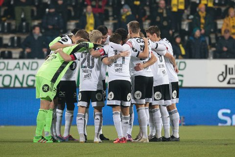 Eliteserien fotball 2020: Bodø/Glimt-Rosenborg. Rosenborg før eliteseriekampen mellom Bodø/Glimt og Rosenborg på Aspmyra stadion. Kampen endte 5-1. Foto: Mats Torbergsen / NTB