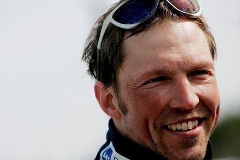 NYBYGDA 20070331: En glad og fornøyd  Frode Estil etter 5-mila under NM på ski på Nybygda skistadion søndag morgen. Han ble nr. 2. Foto: Stian Lysberg Solum / SCANPIX