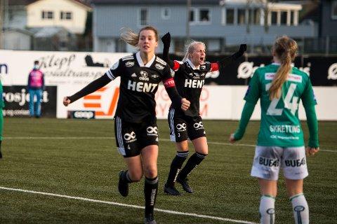 Ina Vårhus var enorm i gullkampen, men det ble ikke gull på RBK-damene.