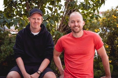 Fra venstre: Lasse Brurok og Arne-Morten Willumsen.